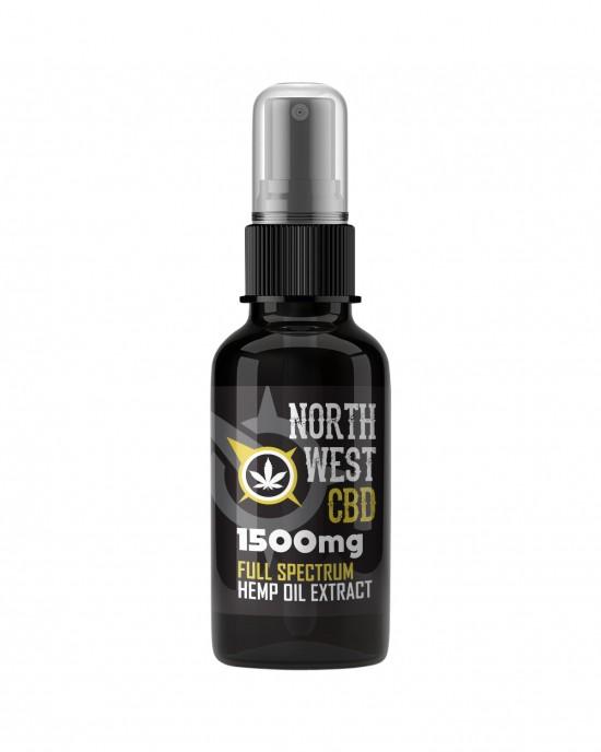 Cannabis CBD Oil - 15% (1500mg CBD) Full Spectrum Spray